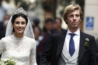 alessandra de-osma in Inside The Star-Studded Royal Wedding Of A Prince & Peruvian It Girl