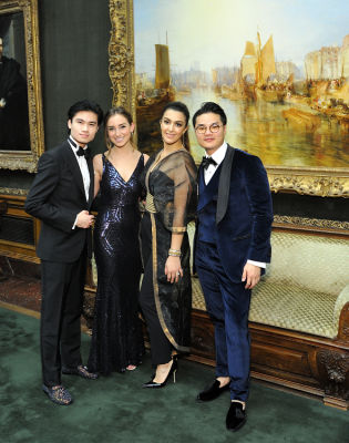 brian lei in The Frick Collection Young Fellows Ball 2018