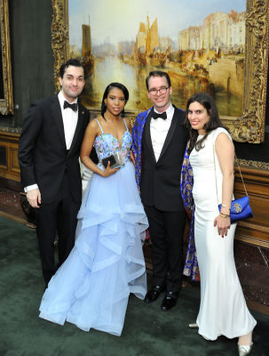 justin kuyper-johnsonie-casimyr-blake-funston in The Frick Collection Young Fellows Ball 2018