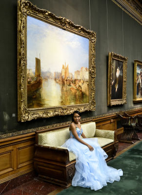 johnsonie casimyr in The Frick Collection Young Fellows Ball 2018