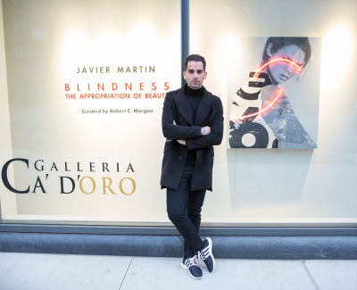 Galleria Ca' d'Oro presents Javier Martin: Blindness The Appropriation of Beauty curated by Robert C. Morgan