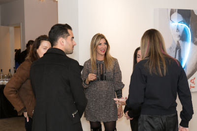 gloria porcella in Galleria Ca' d'Oro presents Javier Martin: Blindness The Appropriation of Beauty curated by Robert C. Morgan