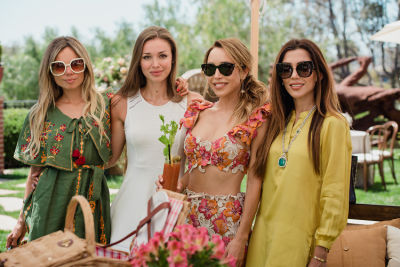 priyanka khanna in Katia Francesconi of The Francesconi-Tisch Charitable Fund and Erica Pelosini host an Earth Day Picnic