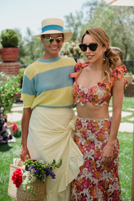 katia francesconi in Inside Katia Francesconi & Erica Pelosini's Dreamy Earth Day Picnic In Beverly Hills