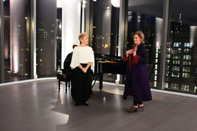 alice coote in Changing the World through Art:  A Cocktail and Concert with Metropolitan Opera stars, Alice Coote, Joyce DiDonato & Bryan Wagorn