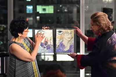 zoe greenbaum in Changing the World through Art:  A Cocktail and Concert with Metropolitan Opera stars, Alice Coote, Joyce DiDonato & Bryan Wagorn