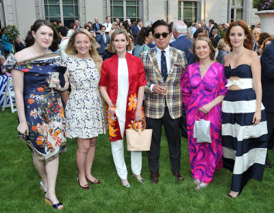 michael espiritu in The Frick Collection Spring Garden Party 2018