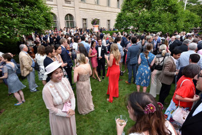 michael onyemelukwe in The Dreamiest Upper East Side Garden Party Of The Year