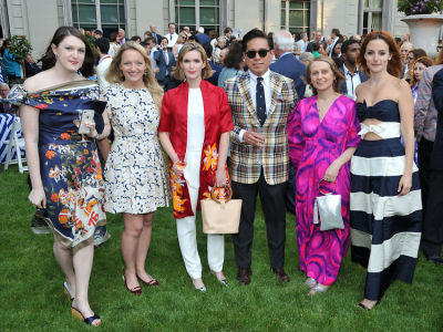 suz massen in The Frick Collection Spring Garden Party 2018