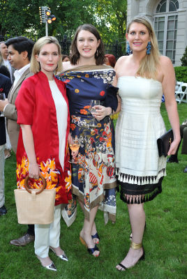 kathryn kerns in The Frick Collection Spring Garden Party 2018