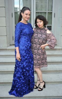 stephanie maida in The Frick Collection Spring Garden Party 2018