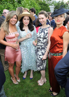 emily selter in The Frick Collection Spring Garden Party 2018