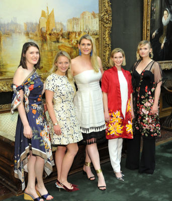 casey kohlberg in The Frick Collection Spring Garden Party 2018