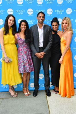 samir patel in PROJECT LION (by UNICEF) Launch