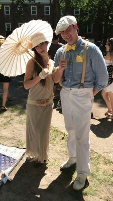 krystie keen in Gatsby Vibes: 1920s Street Style At The 2018 Jazz Age Lawn Party