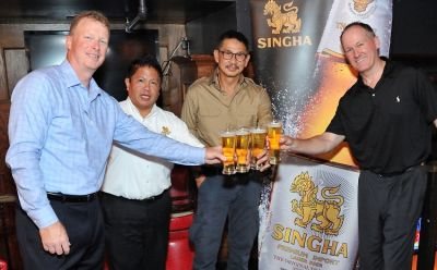 Singha Draft Launch Dinner