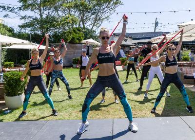 katia pryce in DanceBody Took Over Montauk & The Hamptons Have Never Been Hotter