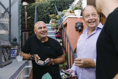 joey santos in Animal Ashram L.A. Cocktails and Conversation