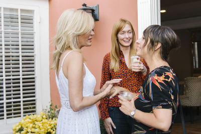 leesa rowland in Inside Animal Ashram's Cocktails & Conversation Fundraiser In L.A.