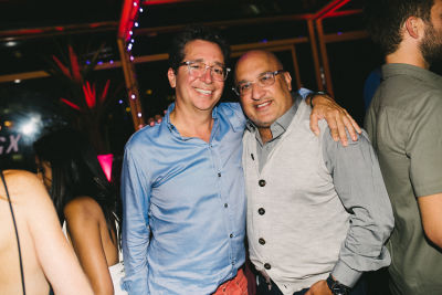 aryeh bourkoff in BLADE GX Party at Make Believe