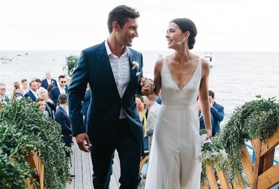 Inside Fabulous Food Star Katie Lee's Seaside Italian Wedding