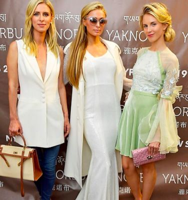 nicky hilton in There's Officially A Third Hilton Sister & She's Taken Over Fashion Week
