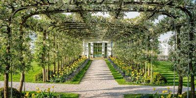 Inside The Lush Magic Of Bunny Mellon's Gardens