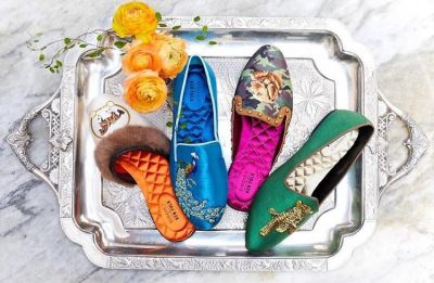 Ken Fulk's New Collection of Slippers Is Wild - And You Totally Need A Pair!