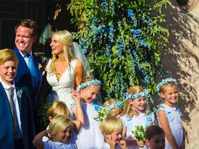Inside Hayley Bloomingdale's Beachy California Wedding