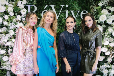 Inside RéVive Skincare's Chic Dinner & Discussion In Beverly Hills