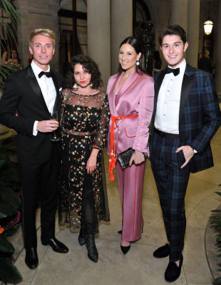 toby milstein in The Frick Collection Fall Dinner 2018