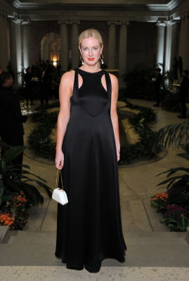 polina proshkina in The Frick Collection Fall Dinner 2018