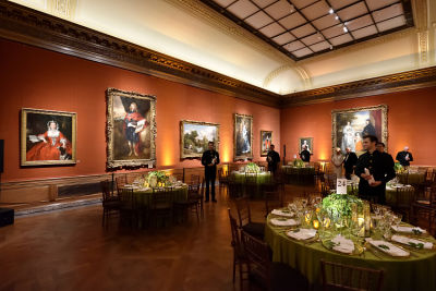 mary snow in The Frick Collection Fall Dinner 2018