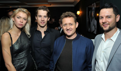 alex winter in Trust Machine NYC Premiere and After Party