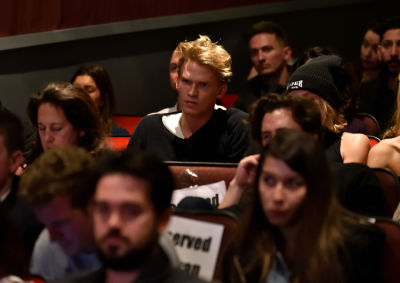cody simpson in Trust Machine NYC Premiere and After Party
