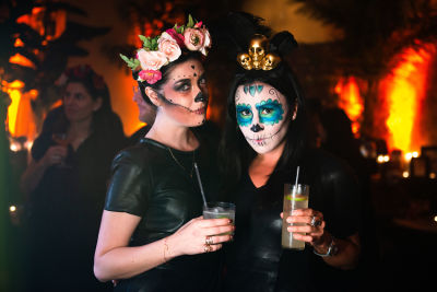 How The Style Set Celebrated Dia De Los Muertos In NYC