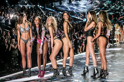The Cheekiest Photos From The Victoria's Secret Fashion Show