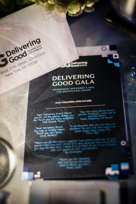 delivering good in A Glamorous Night Supporting Delivering Good