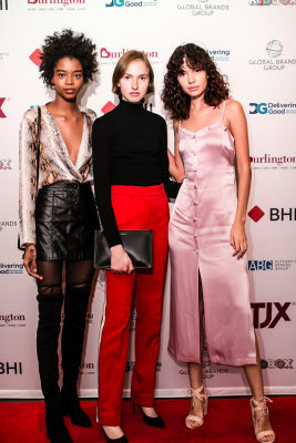 muse models in A Glamorous Night Supporting Delivering Good