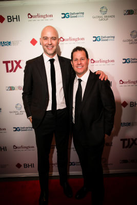 authentic brands-group-nick-woodhouse-and-jamie-salter in Delivering Good 2018 Annual Gala
