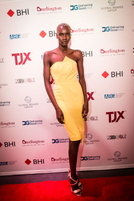 muse model-tricia-akello in A Glamorous Night Supporting Delivering Good