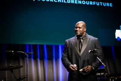 shaquille o-neal in Delivering Good 2018 Annual Gala