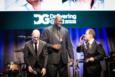 shaquille oneal in Delivering Good 2018 Annual Gala