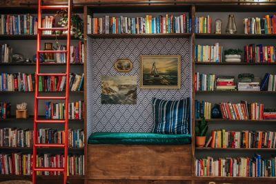 Lululemon's New Pop-Up Library Is The Best Secret Cozy Spot