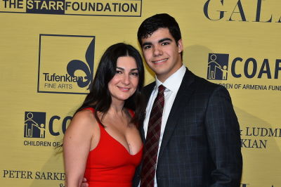 gauge fulmer in Children of Armenia Fund 15th Annual Holiday Gala