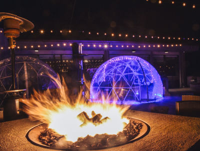 Sip Cocktails In An Igloo... In Montauk