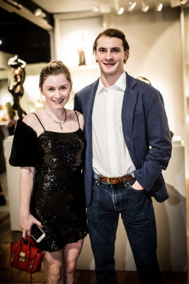 justine lynch in Young Collectors Night at The Winter Show 2019