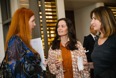 carrie schroeder in DECORTÉ and Modern Luxury Angeleno Luncheon
