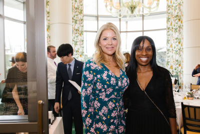 dierdre harris in L.A. Ladies Join DECORTÉ For Lunch At Jean-Georges Beverly Hills