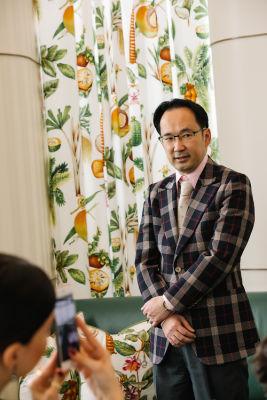 masanori kobayashi in DECORTÉ and Modern Luxury Angeleno Luncheon